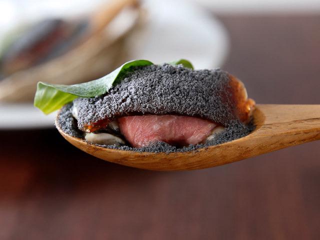 牡蠣と牛肉